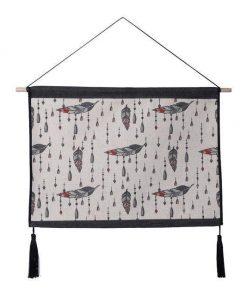 Amerikanischer indianischer Wandteppich - 39 x 54cm